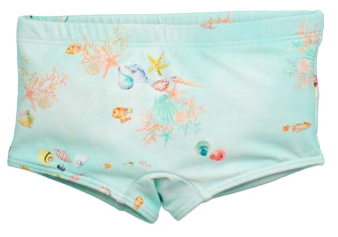 Sunga Boxer Guarda Sol FPS 50 Estampa Digital  Cavalo Marinho BY BIBE