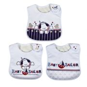 PACK 03 BABADORES BABY SAILOR