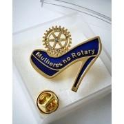 Pin Mulheres no Rotary