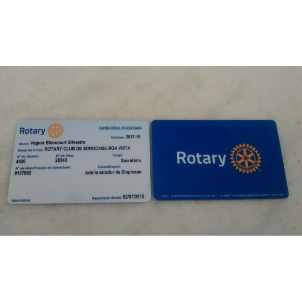 Cartão Identificação Associado