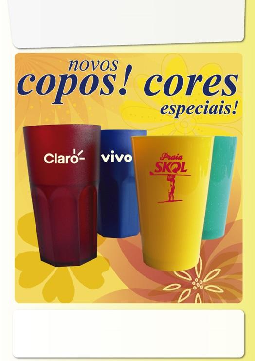 COPOS E CANECAS
