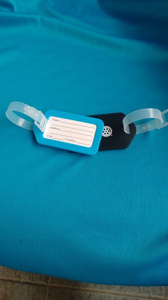 IDENTIFICADOR DE BAGAGEM (tag) - Gravado Rotary