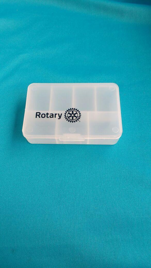 PORTA COMPRIMIDOS - Gravado Rotary