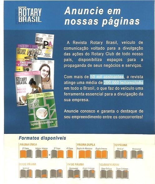 REVISTA ROTARY BRASIL