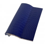 Borda de Piscina de Cerâmica Pastilhado Azul Cobalto 12x25