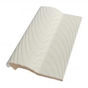 Kit 10 Bordas de Piscina de Cerâmica Sithal Branco 12x25