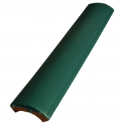 Kit 10 Cantoneiras Côncava Para Piscina Verde 3,5X25cm