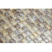 Pastilha  de Vidro com Pedras Naturais e Metais TSCR 290