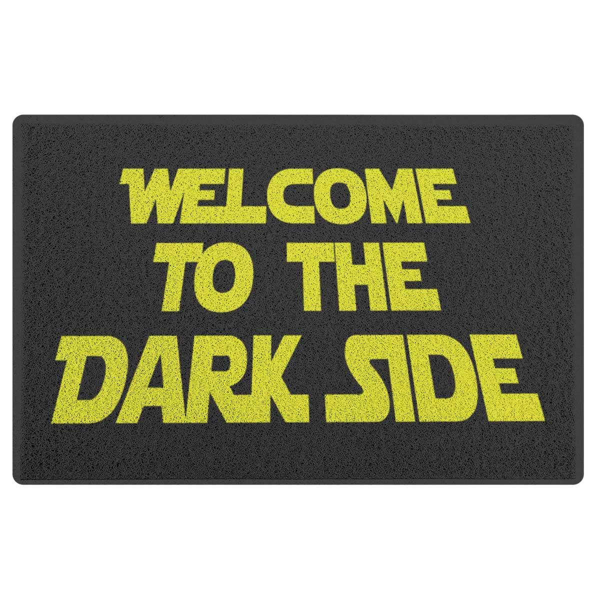Capacho em Vinil Welcome to the Dark Side