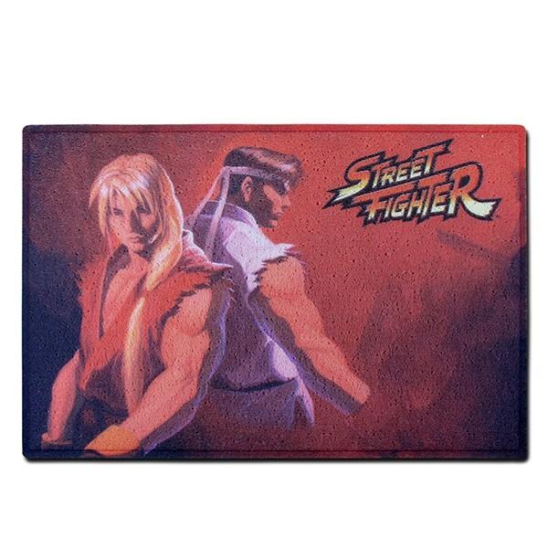 Capacho Ken e Ryu Vermelho