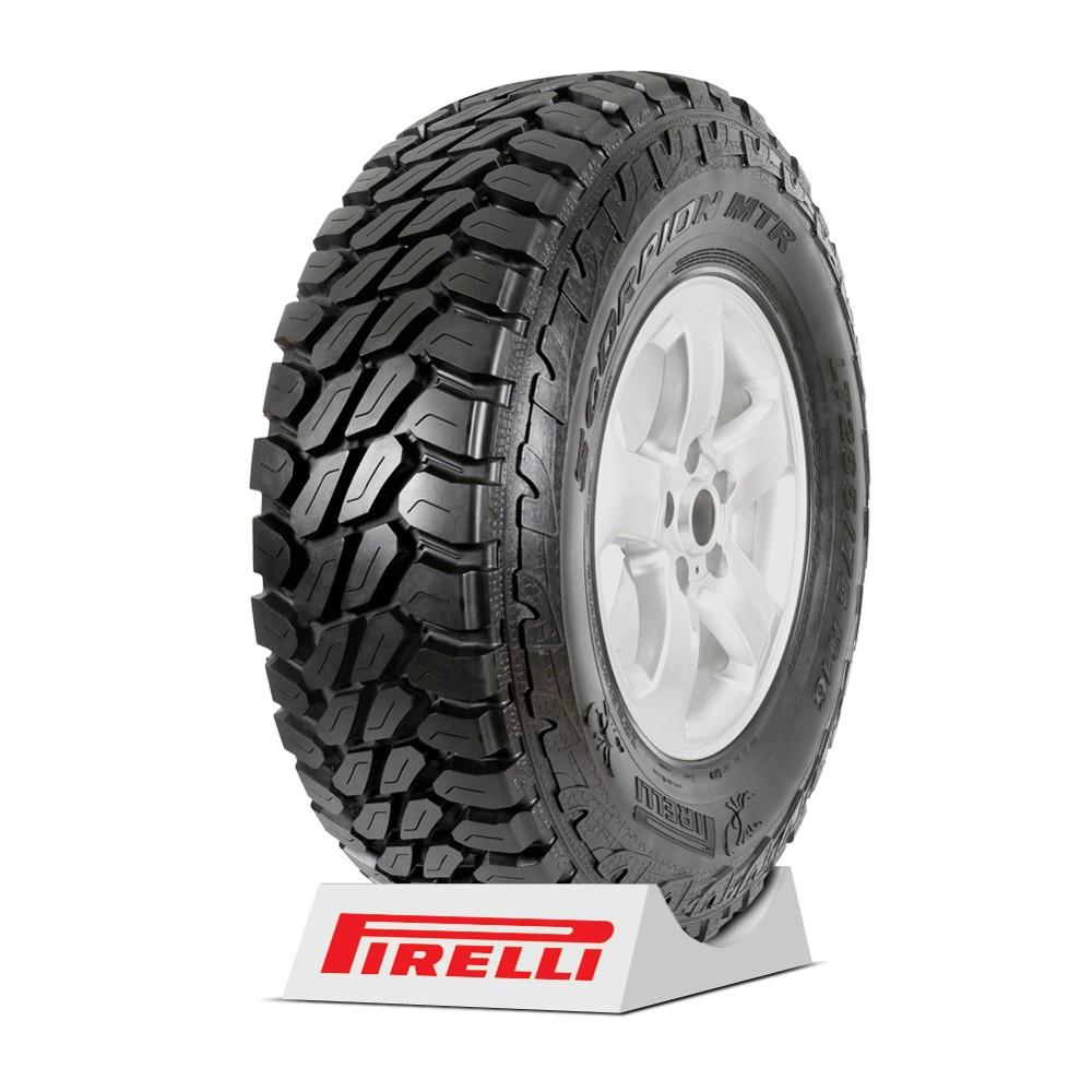 Pneu Pirelli Aro 16 - 215/80R16 - Scorpion MTR - 107R