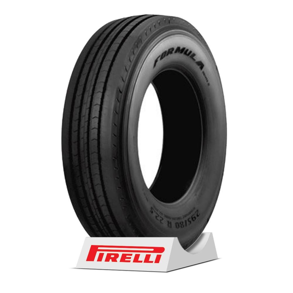 Pneu Pirelli aro 22.5 - 295/80R22.5 - Formula Drive II - 152/148M