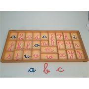 Alfabeto Móvel Cursivo (Francês) Grande