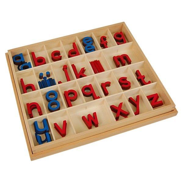 Alfabeto Móvel Bastão Pequeno com Caixa