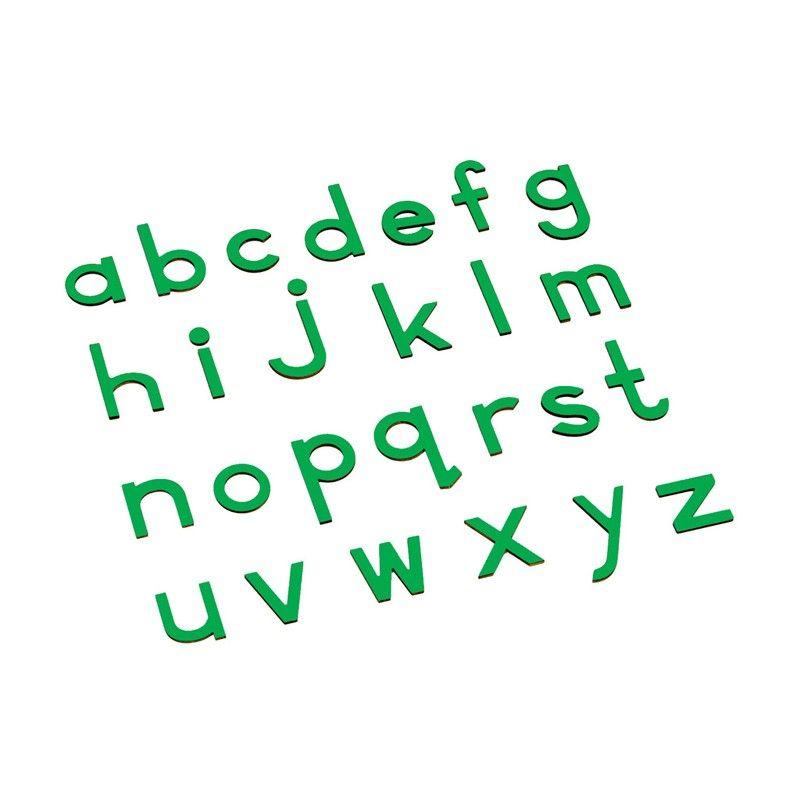 Alfabeto Móvel Bastão Pequeno sem Caixa - Verde