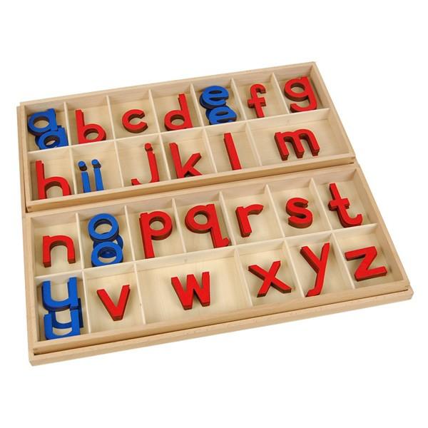 Alfabeto Móvel Bastão Grande com Caixa