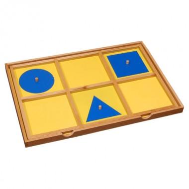 Bandeja de Introdução de Figuras Geométricas