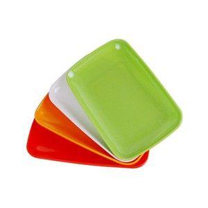 Bandejas Plásticas Individuais (Pequenas) - Cores Variadas