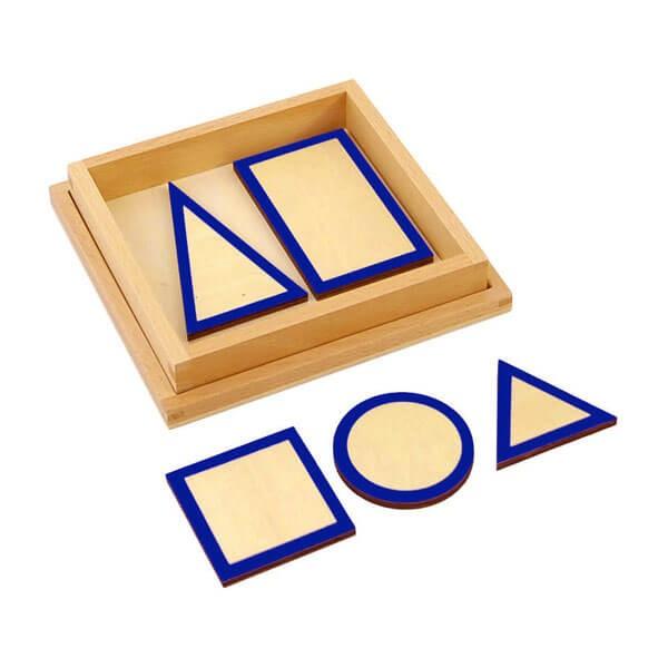 Base dos Sólidos Geométricos com Caixa