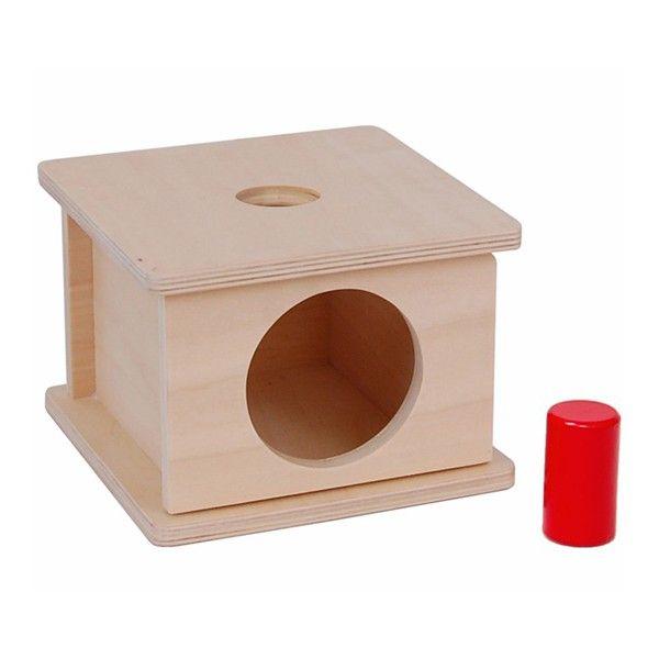 Caixa de Encaixar com Cilindro Pequeno