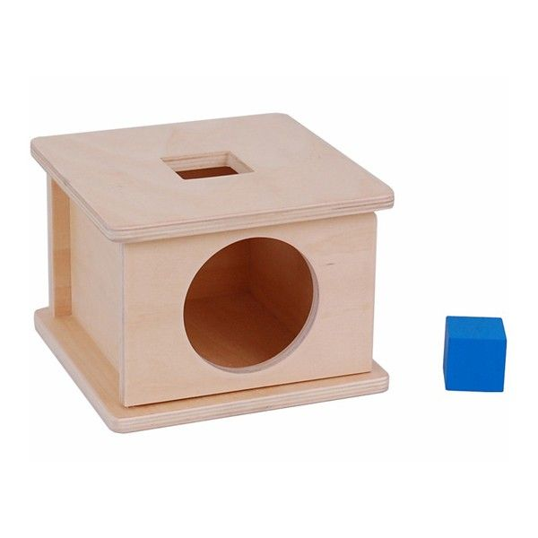 Caixa de Encaixar com Cubo