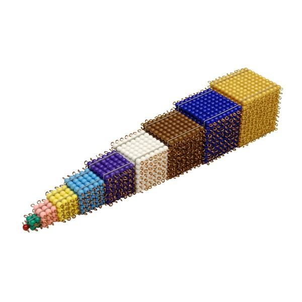 Cubos de Contas Coloridas (Cubos 1 a 9)