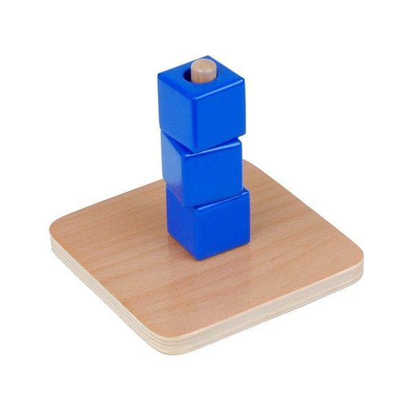 Cubos na Cavilha Vertical