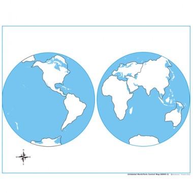 Controle para Mapa-Múndi sem Partes Nomeadas