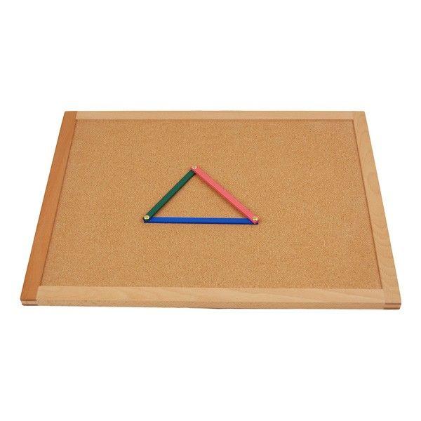Quadro de Cortiça para Varetas Geométricas