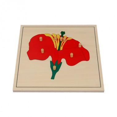 Quebra-Cabeça de Flor