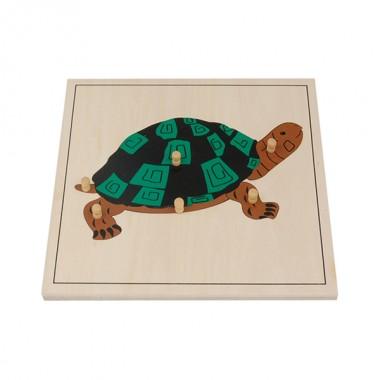 Quebra-Cabeça de Tartaruga