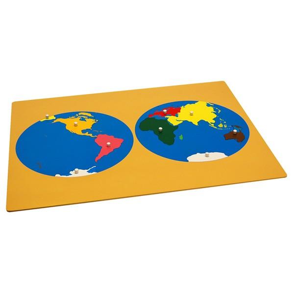 Quebra-Cabeça do Mapa-Múndi