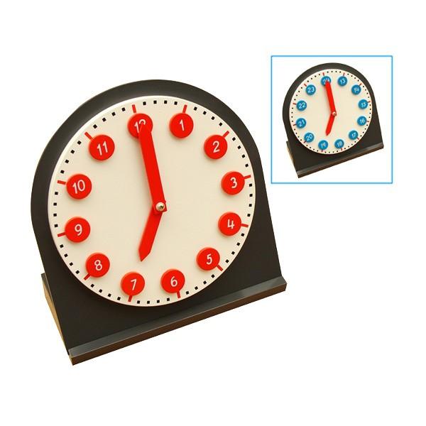 Relógio com Ponteiros Móveis