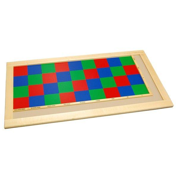 Tabuleiro de Quadrados - Multiplicação até 100.000.000