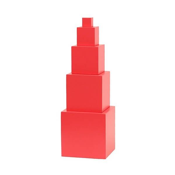 Torre Rosa para Crianças Menores