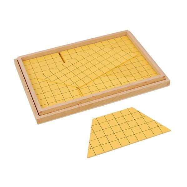 Triângulos Amarelos para Cálculo de Áreas