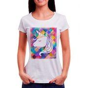 Blusa Outlet Dri T-Shirt Estampada Unicórnio Em Fundo Animado