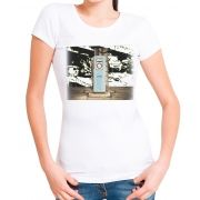 Blusa T-shirt Estampa Gas Vintage