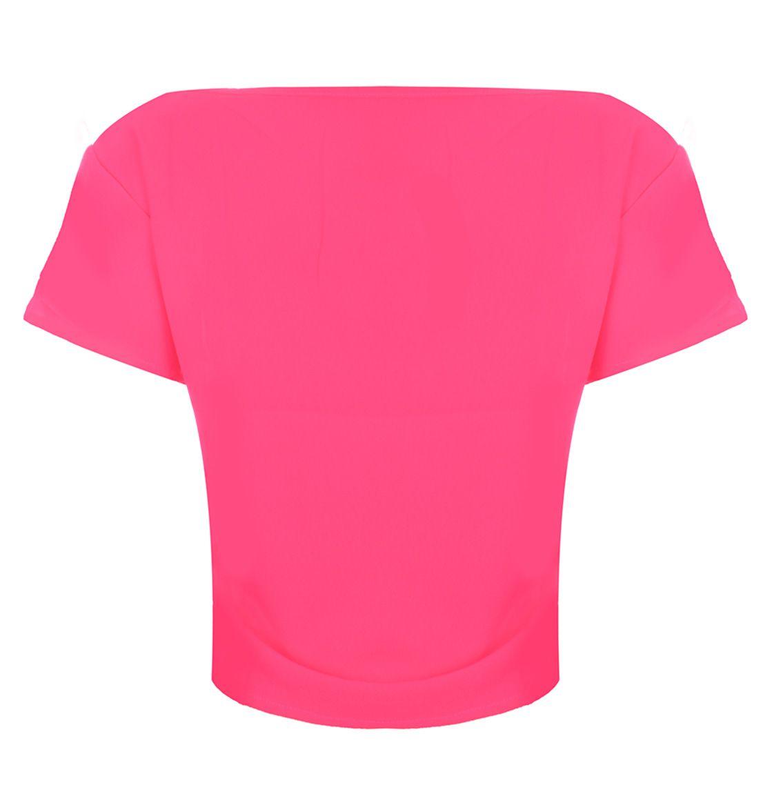 Blusa Cropped OutletDri T-Shirt Estampa Rock