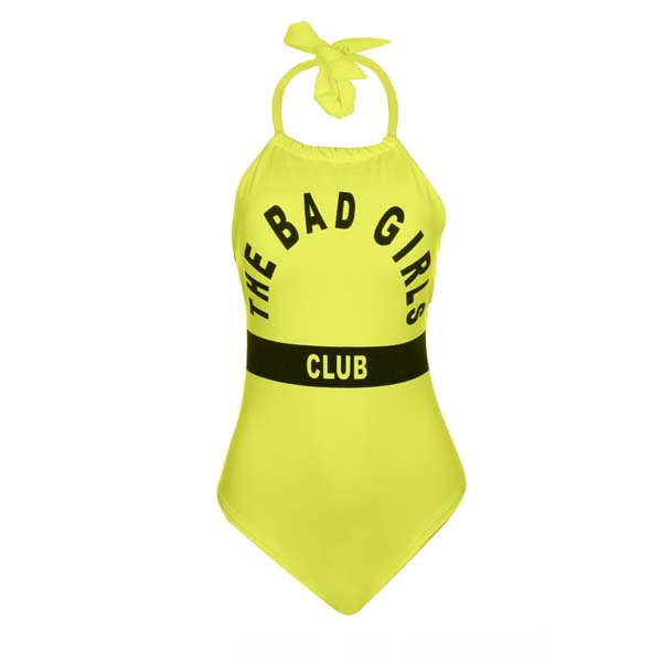 Body Cavado Tiras The Bad Girl Club Estampado Verão