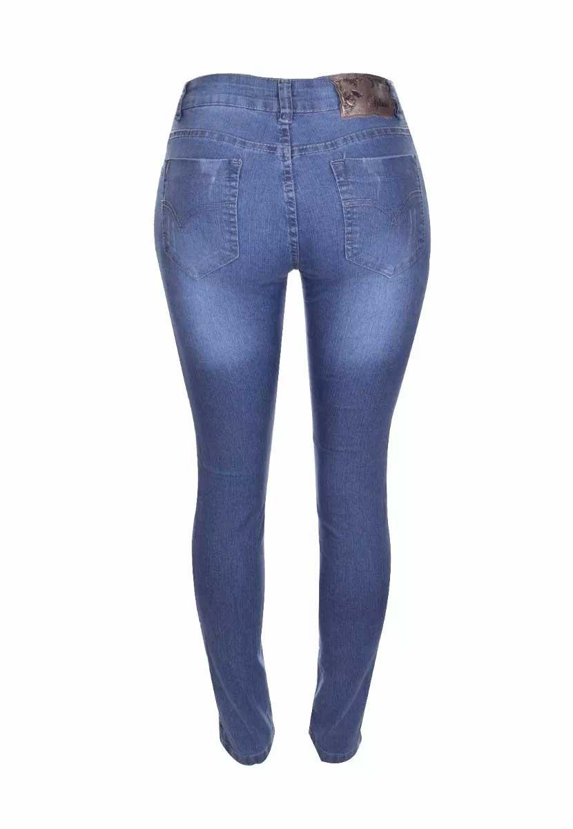 Calça Feminina Jeans Cós Levanta Bumbum Promoção 2017