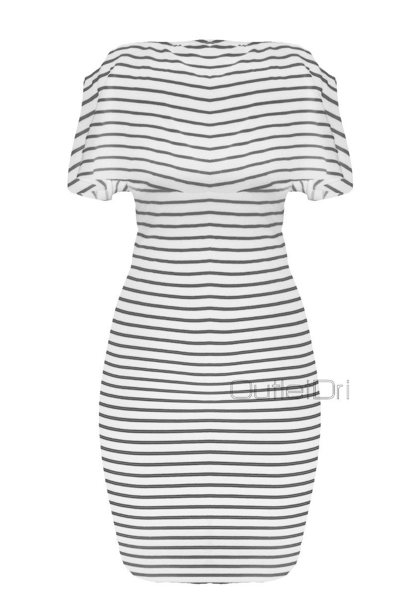 Vestido Feminino Curto Cigana Mula Manca Listrado 2018