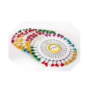 Alfinetes Cabeça em discos - 30 alfinetes