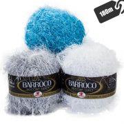 Barroco Decore Luxo Cor Lisa 180mts 280g