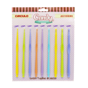 KIT Agulha para crochê Candy Círculo S/A