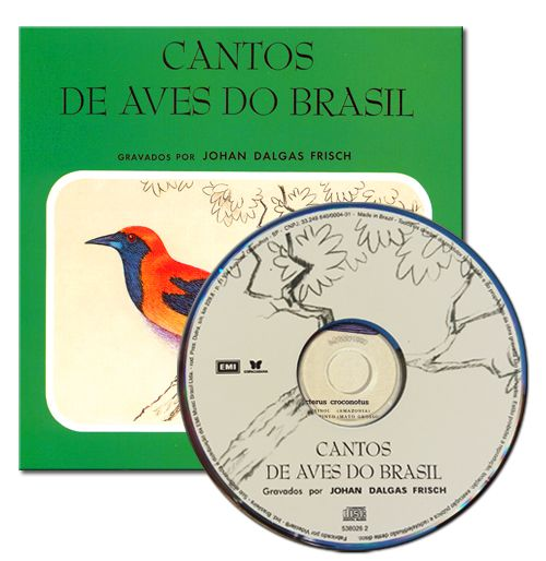 CD CANTO DE AVES DO BRASIL
