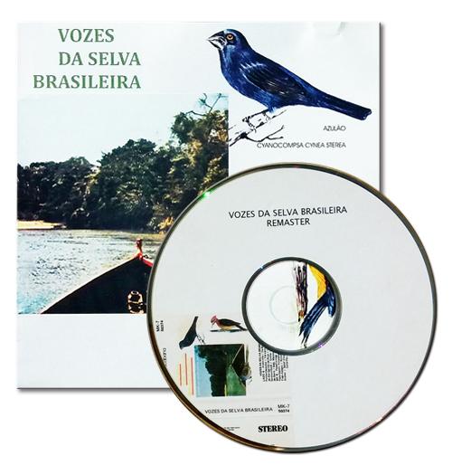 CD VOZES DA SELVA BRASILEIRA
