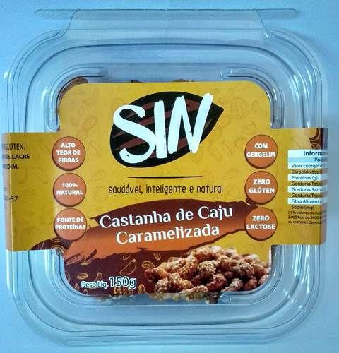 Castanha de Caju Caramelizada com Gergelim 150g
