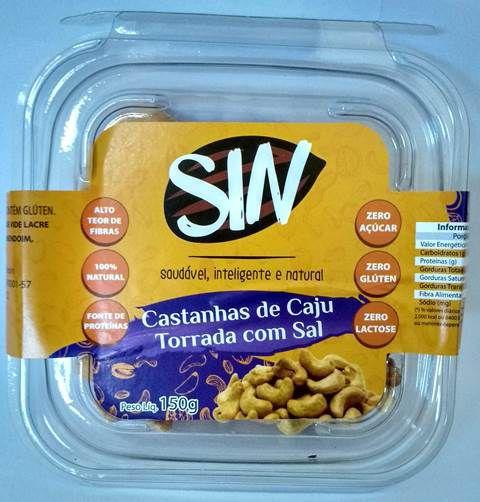 Castanha de Caju torrada com sal 150g