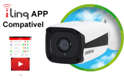 Câmera Mini Bullet IP Intelbras VIP 1120 B 1MP 4564011